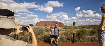 Uluru Small Group Afternoon Tour including Sunset